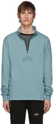 all in Blue Half-Zip Pullover