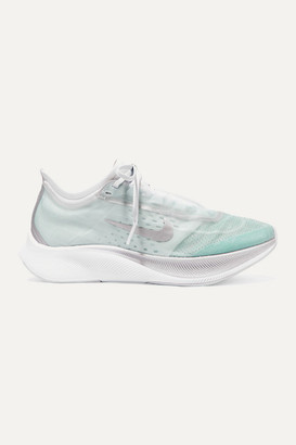 Nike Zoom Fly 3 Mesh Sneakers - Sky blue