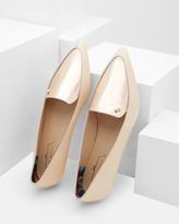 OLESHKY Pointed twotone pumps