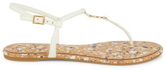 Tory Burch Emmy Leather Thong Sandals