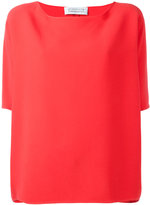 Gianluca Capannolo short-sleeved top - women - Acetate/Viscose - 40