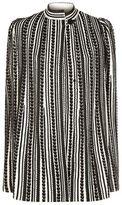 Alexander Mcqueen Textured Knit Cape