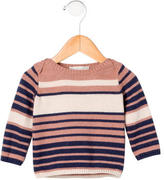 Stella McCartney Girls' Striped Rib Knit Sweater