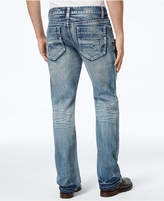 INC International Concepts Men's Medium Wash Boot-Cut Jeans, Created for Macy's