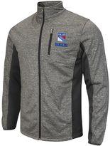 Men's New York Rangers Space-Dye Full-Zip Fleece Jacket