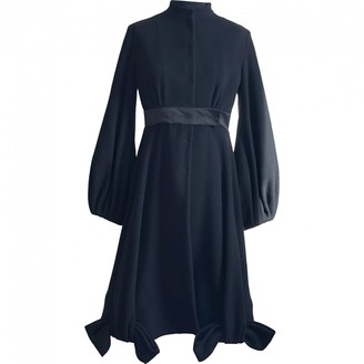Givenchy Black Wool Coat for Women Vintage