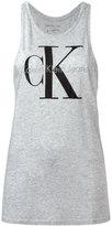 Calvin Klein Jeans tank top with print - women - Cotton/Lyocell - XS