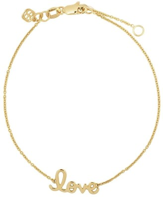 Sydney Evan 14kt Yellow Gold Love Bracelet