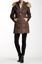 Vince Camuto Faux Fur Trimmed Hooded Parka