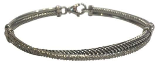 David Yurman Crossover Sterling Silver with 0.43ct Diamonds Bracelet