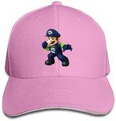 NUBIA Sandwich Peak Cap NUBIA Seahawks Mario Sandwich Peak Running Cap Snapback Hat