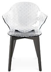 Calligaris St. Tropez Graphite Chair