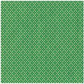 Caspari Diamond Brocade Continuous Gift Wrapping Paper - Green Foil
