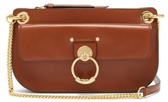 Chloé Tess Mini Leather Cross-body Bag - Brown