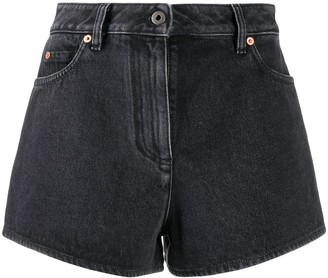 Valentino VLOGO denim shorts
