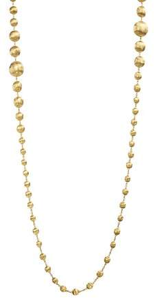 Marco Bicego 18K Yellow Gold Africa Bead Necklace, 36""
