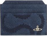 Vivienne Westwood Belfast Squiggle Leather Card Holder