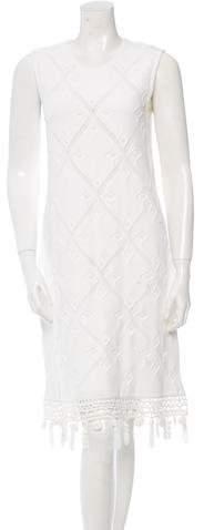 Chanel Patterned Knit Dress