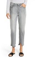 Frame Women's Nouveau Le Mix Distressed Crop Jeans