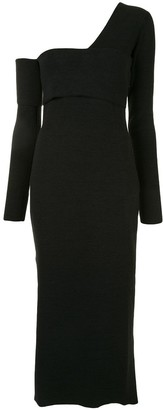 Proenza Schouler One-Shoulder Midi Dress