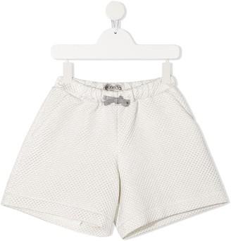 Simonetta Quilted Bermuda Shorts