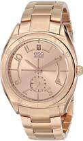 ESQ by Movado ESQ Movado Women's 07101402 esq Origin tm Tonneau-Shaped Rose-Gold Plated Watch