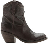 Materia Prima Women's Santa Fe Leather Western Ankle Boot