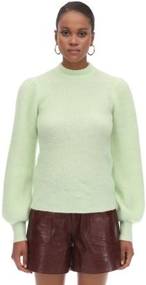 Ganni Soft Knitted Round Neck Sweater