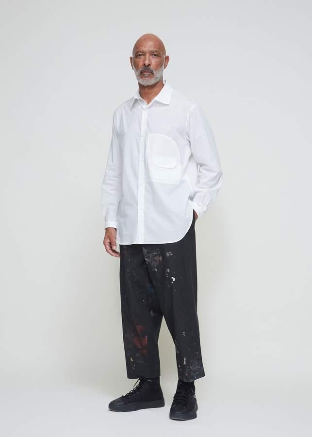 Yohji Yamamoto Stand Collar Shirt