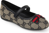 Gucci Marylin logo-print ballet shoes 1-4 years