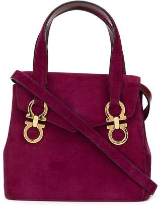 Salvatore Ferragamo Pre-Owned Gancini 2-way top-handle bag