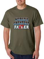 Cosmozz World Greatest Father Farter T-shirt Funny Fathers Day Shirts 2XL f19