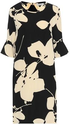 S Max Mara Orca floral cady midi dress