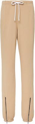 Cotton Citizen Milan Zip-Detailed Cotton Track Pants