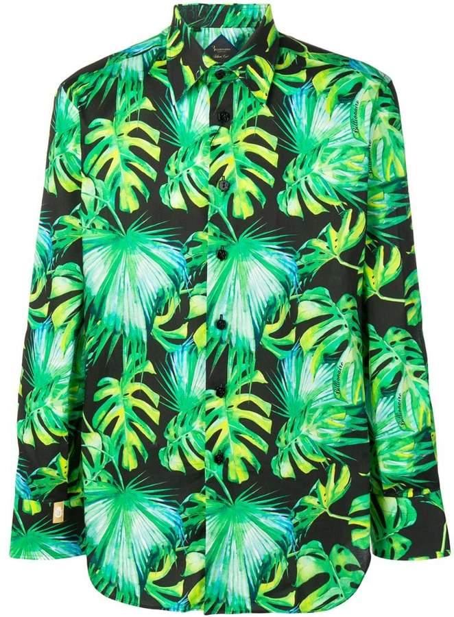 Billionaire leaf print shirt