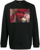 Raf Simons photographic-print sweatshirt