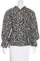 Proenza Schouler Tweed Peplum Jacket