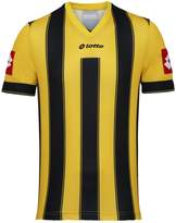 Lotto Mens Striped Vertigo Evo Short Sleeve Football Shirt (XL)