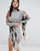Urban Code Urbancode Super Long Faux Fur Scarf