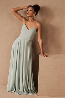 Jenny Yoo Inesse Dress By in Blue Size 14