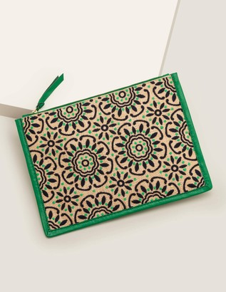 Mariana Embroidered Clutch