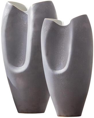 Global Views Oxus Pinched Vase