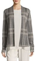 Eileen Fisher Printed Shaped Cardigan
