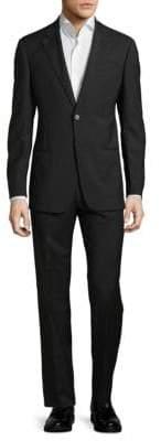 Armani Collezioni Regular-Fit Textured Wool Suit