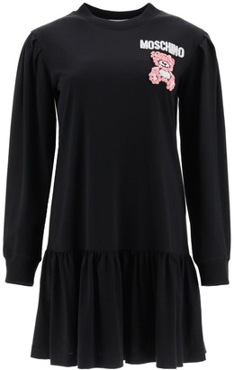 Moschino Teddy Embroidered Dress