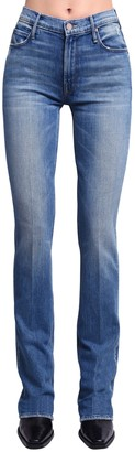 Mother The Runaway Skinny Flared High Jeans