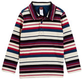 Tea Collection Emanuel Striped Polo Tee (Toddler, Little Boys, & Big Boys)