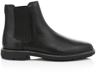 Coach Leather Chelsea Boots