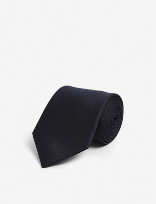 Lanvin Balloon-embroidered silk tie