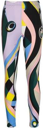 Emilio Pucci Abstract Print Slim-Fit Track Pants